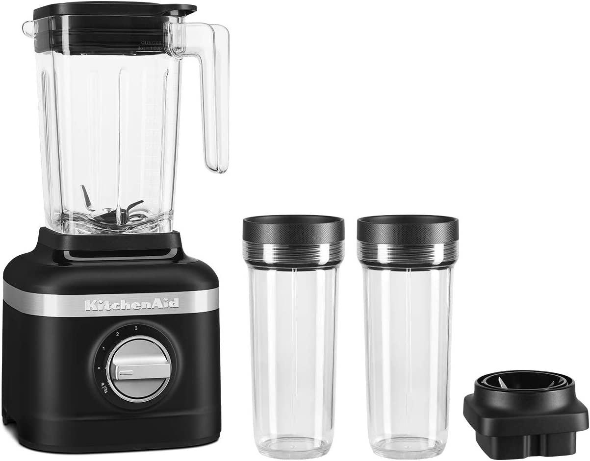 KitchenAid KSB1332YBM K150 Blender, 48 oz, Matte Black