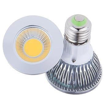 Bombilla LED de 9 W E27 PAR20 con foco de luz Epistar AC85-255 V