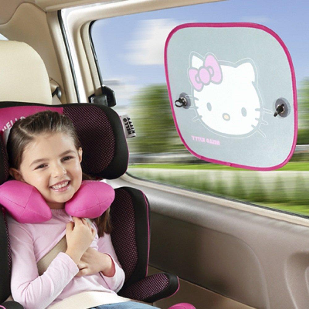 Hello Kitty KIT3014 Auto-Sonnen-Schutz und Sonnen-Blende f/ür Baby und Kinder 2 St/ück