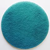 FLEXIS KGS floor cleaning & polishing pads 13 inch, grit 800 - blue (2 pack)