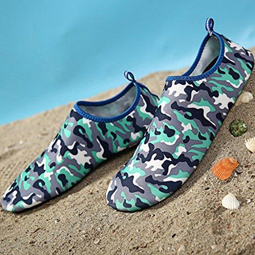Agua Aguamarina 3azul Deportivos para Buceo Eagsouni® Calcetines Zapatos Natación de Shoes Aqua Playa Descalzo Surf Itgx4T