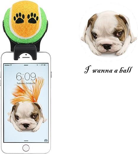 E-PLG Accesorio para smartphone, palo selfie para mascotas ...