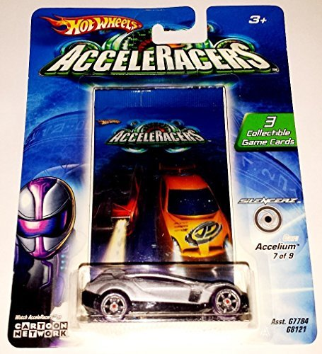 Hot Wheels AcceleRacers Silencerz #7 Of 9 Accelium