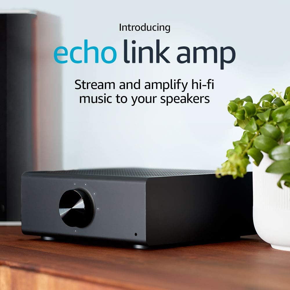Stream and amplify hi-fi music to your speakers Echo Link Amp