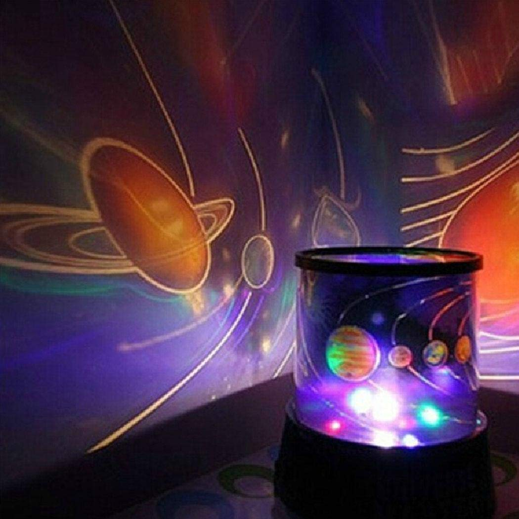 LED Star Sky Night Light Home Room Party Decoration Projector Lamp Kids Gift