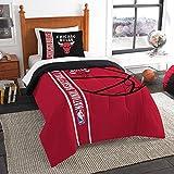 Chicago Bulls Comforter And Sham Bed Set