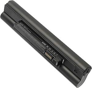 Laptop Battery for Dell Mini 1010V Mini 1011 Mini 1011N Mini 1011V, P/N M456P M457P M525P P03T001 T745P K916P PP19S F114H F143M N531P N532P N533P P03T - [6 Cells 11.1V 5200mAh]
