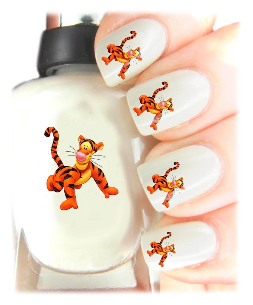 Easy to use, High Quality Nail Art Decal Stickers For Every Occasion! Ideal Christmas present, stocking filler Winnie the Pooh - Tigger SNAD