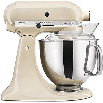 KitchenAid Artisan - Robot de cocina (4,8 L, Crema de color, palanca, 220 RPM, 1,45 m, 5 año(s)): Amazon.es: Hogar