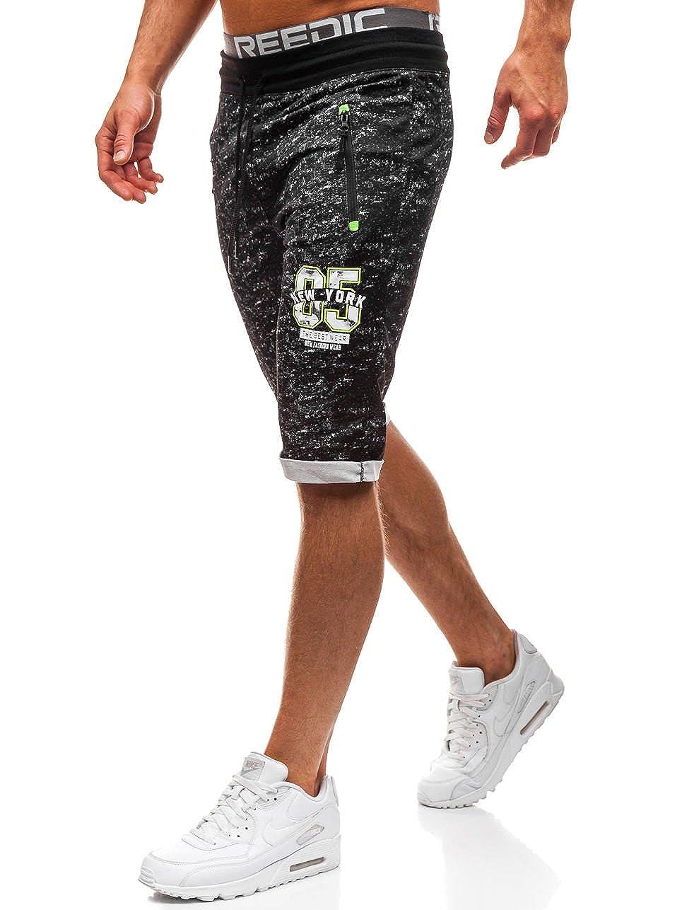 BOLF Herren Shorts Kurzhose Sporthose Jogginghose Bermudas Fitness Mix 7G7 Motiv LDPL120A_LDPL120A