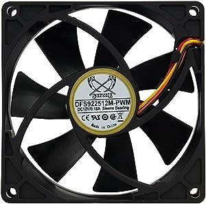 Scythe Kama 92mm Fan, CPU Cooler/Case Fan, PWM 300-2500RPM