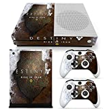 Xbox One S Console Skin Decal Sticker Destiny Rise Of Iron + 2 Controller Skins Set