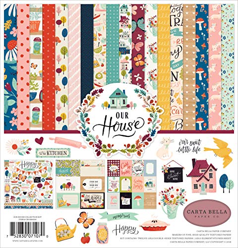 Carta Bella Paper Company CBOH94016 Our House Collection Kit Paper ()