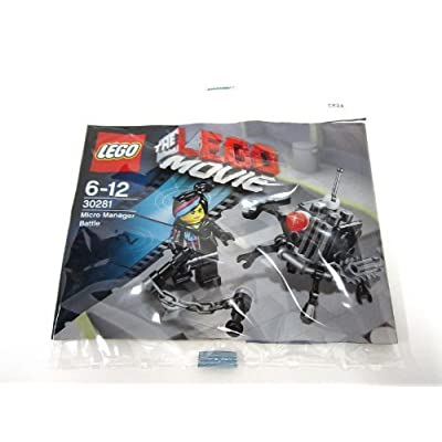 Lego - The Lego Movie Micro Manager Battle 30281 Polybag: Toys & Games