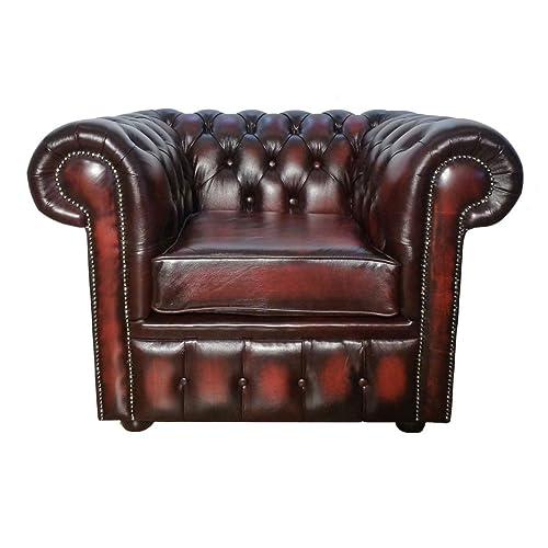 Leather Chesterfield Sofa Amazon Co Uk