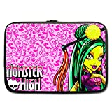 """JIUDUIDODO Custom Independence Day Best Gifts Lovely Monster high lamp Water Resistant Neoprene Computer Bag Sleeve for Laptop 13"""" (Twin sides)"""