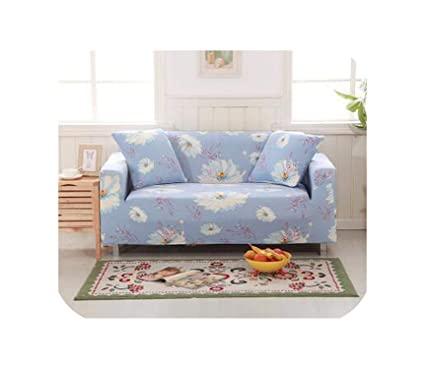 Amazon.com: earth-me Floral Sofa Covers All-Inclusive ...