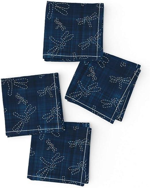 100/% Cotton Kimono Sashiko Navy Fabric