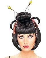 Geisha Asian Lady Costume Wig