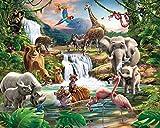 Walltastic Jungle Adventure Wallpaper Mural 8ft x 10ft