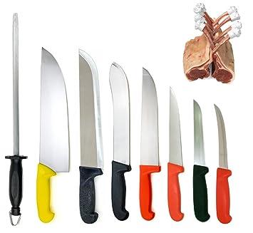 Compra Dolomiten Inox - Juego de cuchillos de carnicero en ...