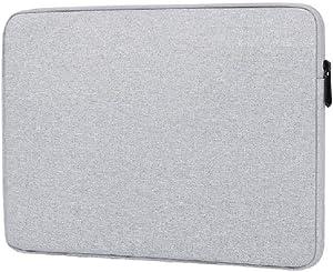 "Elonglin Laptop Case Sleeve, Laptop Pouch Bag for Notebook Computer Case, Notebook Liner Bag Briefcase 15.6"" Grey"