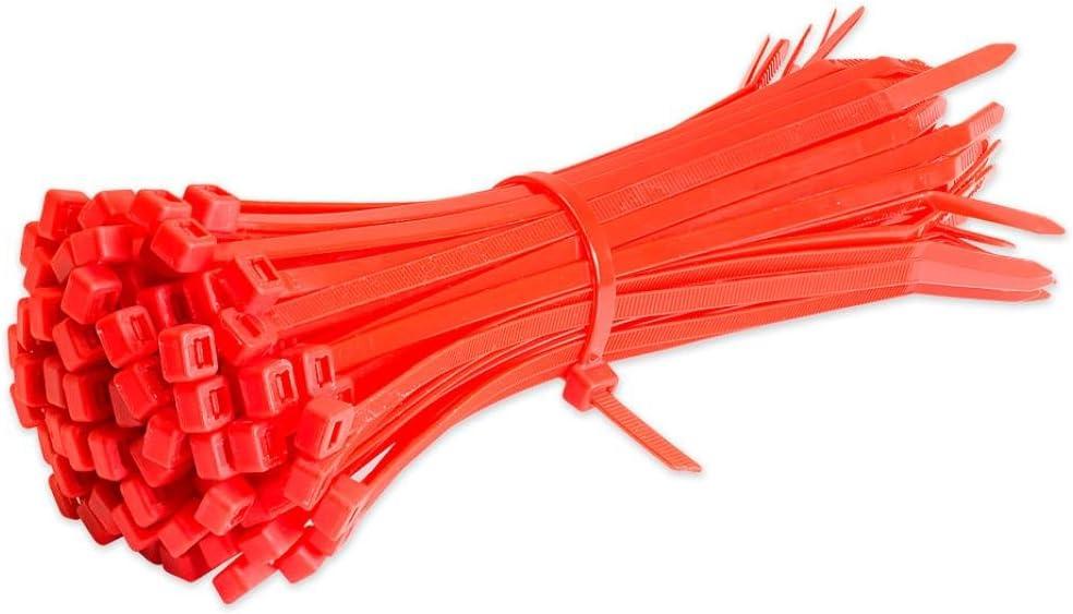 Blau BZLine Nylon Krawatten 100 St/ück Kabelbinder Kabelbinder Nylon Kabelbinder Premium Strong Extra Lang Alle Gr/ö/ßen und Farben