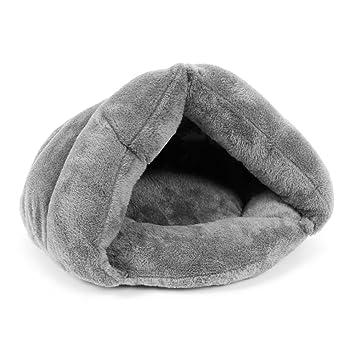 ueetek Cachorros Mascotas Perro Gato Gatito Chihuahua suave algodón cama casa Saco de dormir (gris): Amazon.es: Productos para mascotas