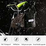 ASOSMOS Bike Saddle Bag,Waterproof Bicycle Seat Packs Triangle Bike Seat Storage Bag with Quick Release Buckle for Road Bike Mountain Bike MTB Bicycle