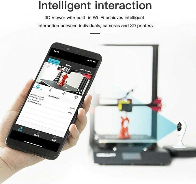 3D Impresora Wifi Remoto Monitor Cámara por Creality Ender 3 & por ...