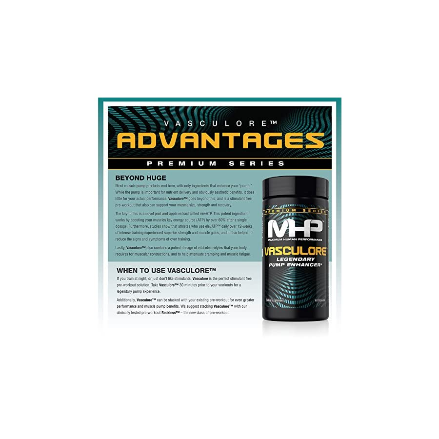MHP, Vasculore Legendary Pump Enhancer