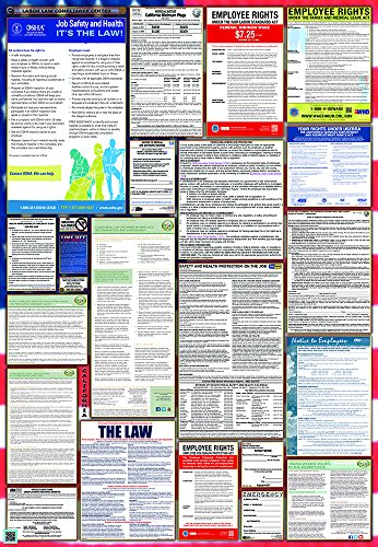 (California & Federal Combination Labor Law Posters (New))