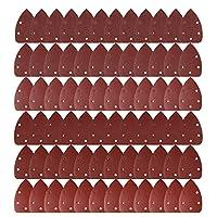 LEOBRO 72 Pcs Sander Sandpaper Sander Pads Sanding Sheets Assorted Grits Shipping by FBA