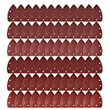 Purture 72 Pcs 140mm Mouse Detail Sander Sandpaper Sander Pads Sanding Sheets Assorted 40 60 80 120 240 Grits Shipping by FBA