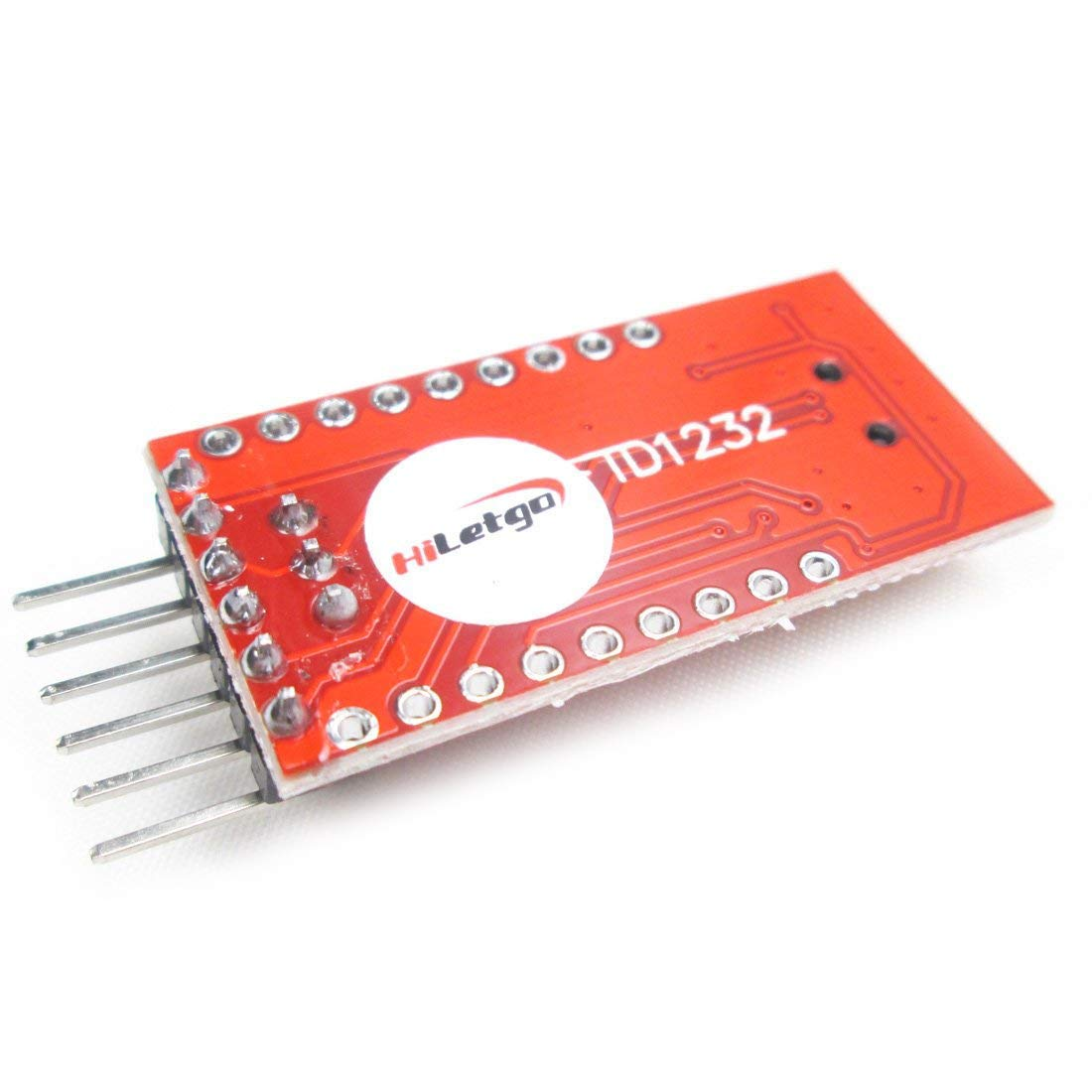 HiLetgo FT232RL FTDI Mini USB to TTL Serial Converter Adapter Module 3.3V 5.5V FT232R Breakout FT232RL USB to Serial Mini USB to TTL Adapter Board for Arduino by HiLetgo (Image #2)
