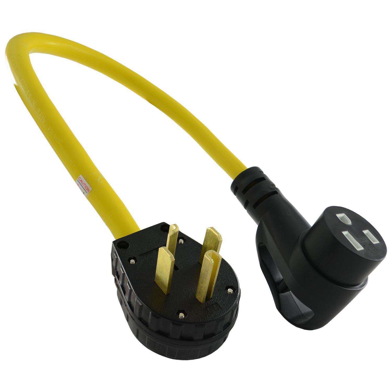 Conntek P1430650-A 14-30p to 6-50R Welder Adapter with Ergo Grip