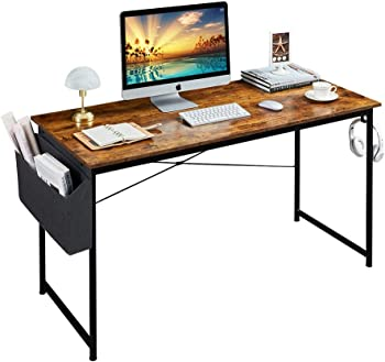 Homchwell 47 inch Study Computer Desk with A Storage Bag