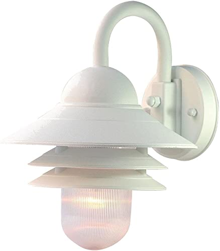Acclaim 82TW Mariner Collection 1-Light Wall Mount Outdoor Light Fixture, Textured White