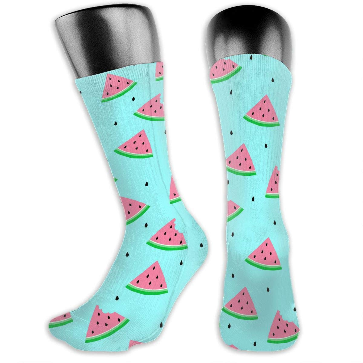 OLGCZM Watermelon Pattern Men Womens Thin High Ankle Casual Socks Fit Outdoor Hiking Trail
