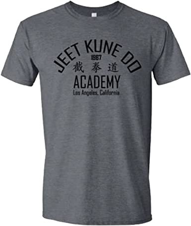 Bruce Lee inspired T Shirt Jeet Kune Do MMA Kung Fu Legend Martial Arts Dragon
