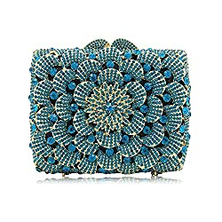 Crystal Pearl Beaded Evening Bag