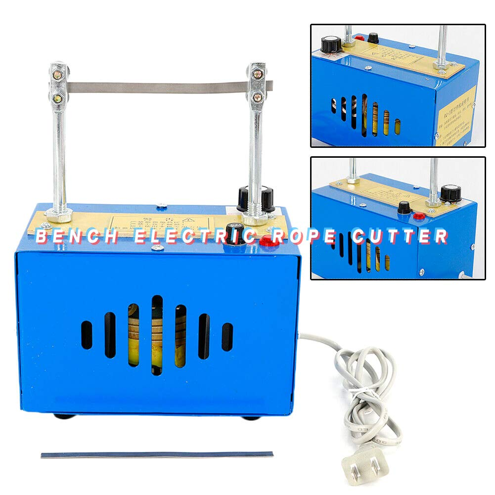 Cutting Machine TBVECHI 110V 35W Bench Electric Rope Cutter Heating Cut Rope Cord Cutting Machine by TBvechi (Image #1)