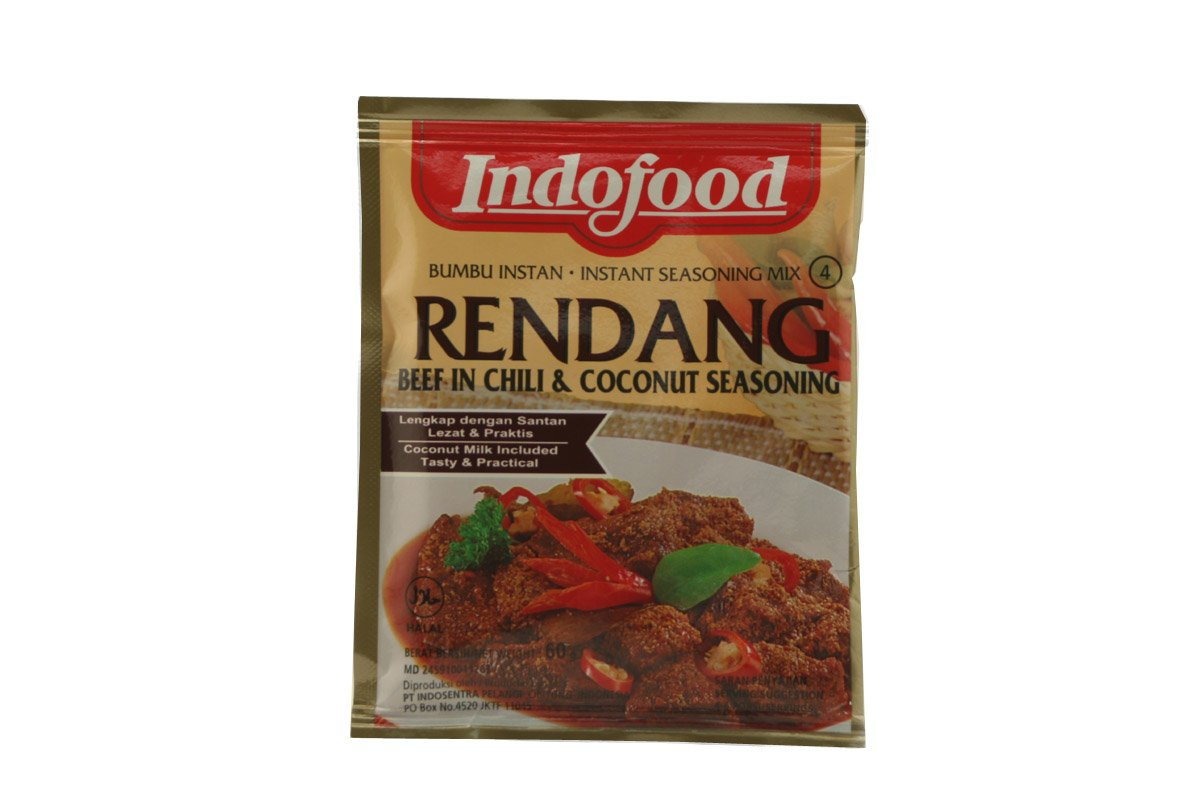 Bumbu Rendang (Beef in Chilli and Coconut Mix) - 1.60z (Pack of 1)