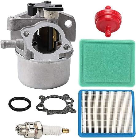 Amazon Com 799866 Carburetor 491588 491588s Air Filter For 190cc 725ex 790845 799871 796707 794304 Engines Toro Craftsman Troy Bilt Lawn Mower Garden Outdoor
