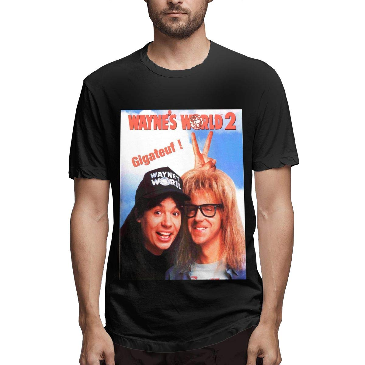 Lihehen Wayne S World 2 Round Neck Shirts