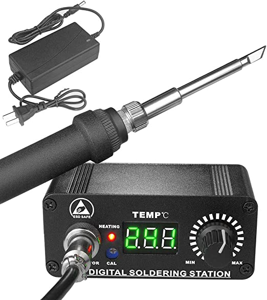 MINI OLED T12 Digital Soldering Iron Station Temperature Controller 12-24V 3A