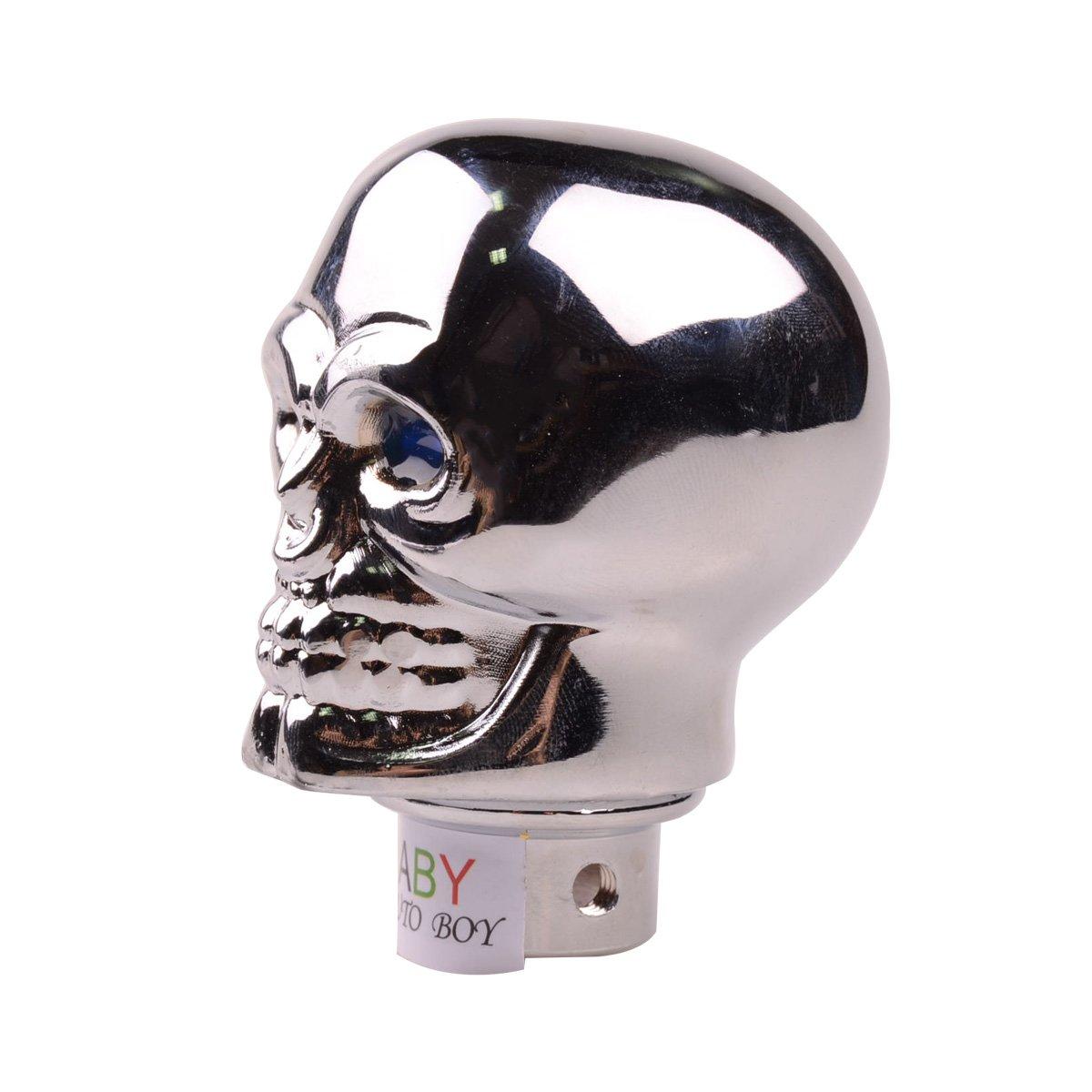 Automotive Interior Accessories ABy Skull Shape Auto Car Aluminium ...