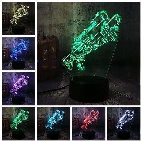 Novedad Cool Shot9un Battle Royale juego PUBG TPS LED lámpara de ...