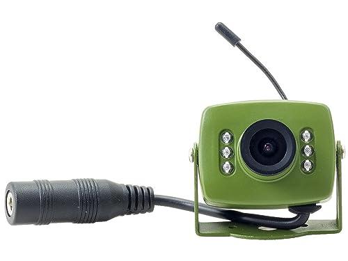 Green Feathers 700TVL Wired Bird Box Camera with Audio: Amazon.co.uk ...