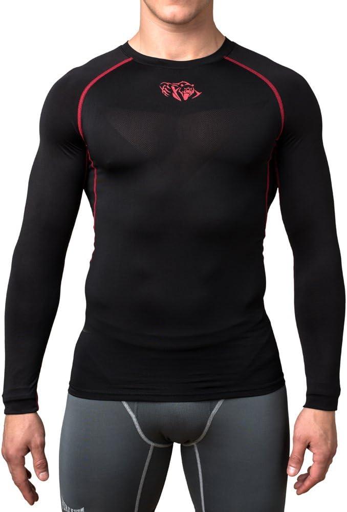 Peresvit Air Motion Compression Men Long Sleeve Training T-Shirt Back Chest Mesh